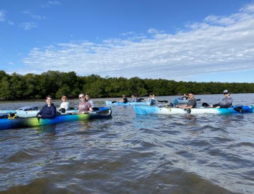 "First Baptist Academy Explores Tarpon Bay & ""Ding"" Darling"